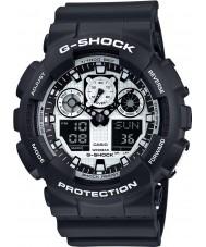 Casio GA-100BW-1AER Męski zegarek g-shock