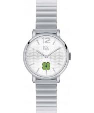 Orla Kiely OK4003 Panie Frankie Srebrna bransoleta ze stali zegarek