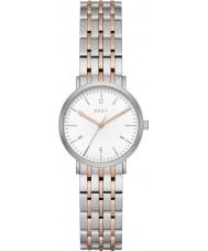 DKNY NY2512 Panie Minetta two tone stalowa bransoleta zegarka