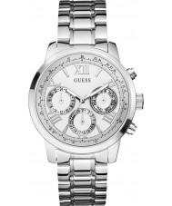 Guess W0330L3 Panie sunrise Srebrna bransoleta ze stali zegarek