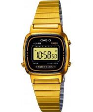 Casio LA670WEGA-1EF Kolekcja pozłacany zegarek cyfrowy