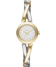 DKNY NY2171 Panie crosswalk złoty srebrny zegarek