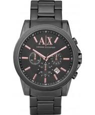 Armani Exchange AX2086 Mężczyzna szary strój zegarek chronograf ip