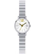 Orla Kiely OK4005 Panie Frankie Srebrna bransoleta ze stali zegarek