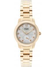 Rotary LB02702-41 zegarki damskie Cambridge wzrosła pozłacany zegarek