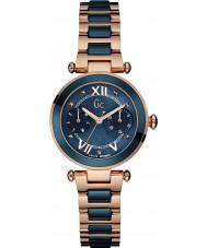 Gc Y06009L7 Ladychic wzrosła pozłacane bransoletę zegarka