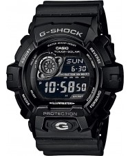 Casio GR-8900A-1ER Mężczyźni g-shock czas światowy czarny zegarek zasilany energią słoneczną