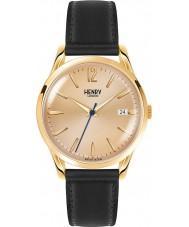 Henry London HL39-S-0006 Westminster połowie szampana czarny zegarek