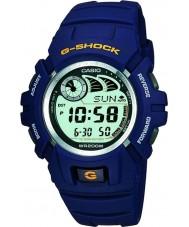 Casio G-2900F-2VER Mężczyźni g-shock e-bank danych niebieski zegarek