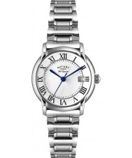 Rotary LB90140-07 Panie les originales carviano nierdzewna srebrny zegarek