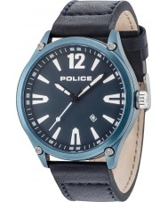 Police 15244JBBL-03 Zegarek zębaty męski