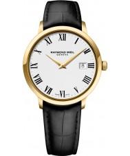 Raymond Weil 5488-PC-00300 Mens Toccata czarny skórzany pasek zegarka