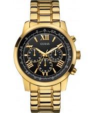 Guess W0379G4 Mężczyźni horyzont pozłacany zegarek chronograf