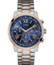 Guess W0379G7 Mężczyźni horyzont two tone stali zegarek chronograf