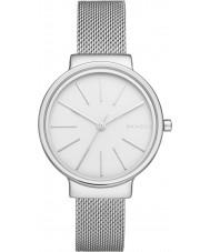 Skagen SKW2478 Panie ancher srebrny zegarek siatka stalowa