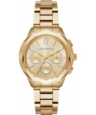 Karl Lagerfeld KL4006 Panie Optik pozłacane Chronograph zegarek