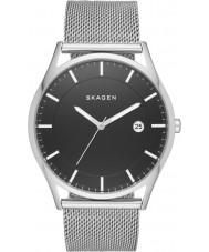 Skagen SKW6284 Mężczyźni Holst srebrna bransoletka siatka stalowa zegarek