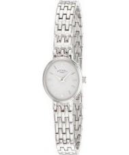 Rotary LB02083-02 Panie zegarki srebrny zegarek biały