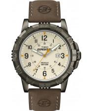 Timex T49990 Mens brązowy expedition rugged field zegarek