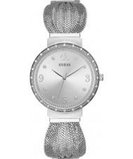 Guess W1083L1 Zegarek damski z szyfonu