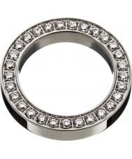 Edblad 78841 Panie kwadrat wiecznością stalowy pierścień - rozmiar S (XL)