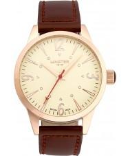 Minster 1949 MN01CRRG10 Mężczyźni CROFTON brązowy skórzany pasek zegarka