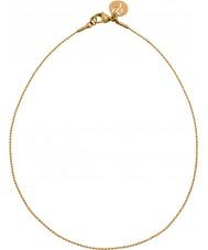 Edblad 31630142 Panie charmentity ballchain złotem długi łańcuch