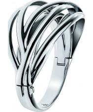 Calvin Klein KJ1RMD00010S ostre panie bransoletka ze stali nierdzewnej