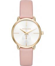 Michael Kors MK2659 Portia Ladies różowy skórzany pasek zegarka