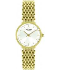 Rotary LB00900-01 Ladies złota platerowane zegarek