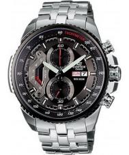 Casio EF-558D-1AVEF Mężczyźni gmachu chronografu zegarek stal czarna