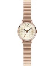 Orla Kiely OK4016 Frankie Ladies wzrosła pozłacany zegarek