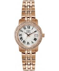 Rotary LB90093-41 Panie les originales wzrosła pozłacane bransoletę zegarka
