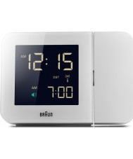 Braun BNC015WH-RC Biały zegar cyfrowy