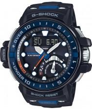 Casio GWN-Q1000-1AER Mężczyźni g-shock sterowane radiem czarna żywica pasek zegarka