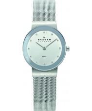 Skagen 358SSSD Panie Klassik zegarek oczek chromowosrebrny