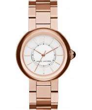 Marc Jacobs MJ3466 Courtney Ladies wzrosła pozłacane bransoletę zegarka