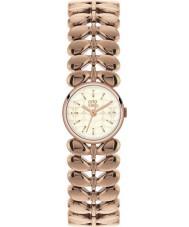 Orla Kiely OK4020 laurowy Women wzrosła pozłacany zegarek