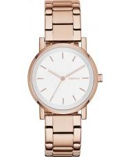 DKNY NY2344 Panie Soho wzrosła złoty zegarek