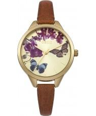 Oasis B1540 Panie tan skórzany pasek zegarka