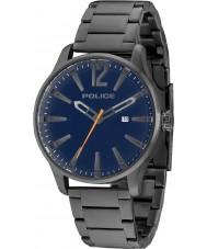 Police 14764JSU-03M Mężczyźni dallas szara stalowa bransoletka zegarek