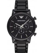 Emporio Armani AR1895 Męskie chronograf czarny klasyczny zegarek ip