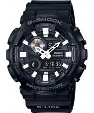 Casio GAX-100B-1AER Mężczyźni g-shock czas światowy czarny pasek zegarka żywicy