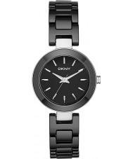 DKNY NY2355 Panie Stanhope Czarny Ceramiczny zegarek