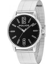 Police 14765JS-02M Mężczyźni Esquire Srebrna bransoleta ze stali zegarek