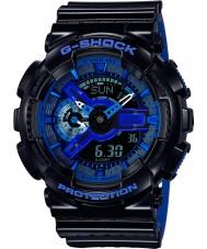 Casio GA-110LPA-1AER Mężczyźni g-shock czas światowy czarny pasek zegarka żywicy