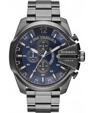 Diesel DZ4329 Mężczyźni mega szef zegarek chronograf brązu stali
