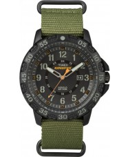Timex TW4B03600 Mężczyźni wyprawa Gallatin zielony nylonowy pasek do zegarka