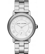 Marc Jacobs MJ3469 Panie Riley Srebrna bransoleta ze stali zegarek