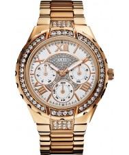 Guess W0111L3 viva Women wzrosła pozłacane bransoletę zegarka